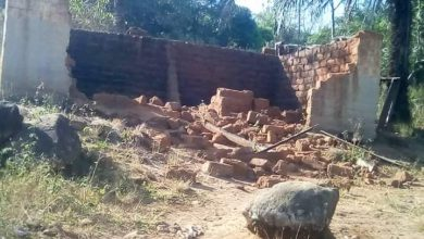 Photo of Black week for Lake Nyos Disater survivors as soldiers destroy over 200 houses