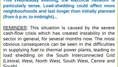 Photo of ENEO blames cash flow crisis for load shedding