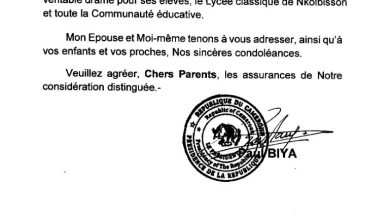 Photo of Biya's condolence to family of slain teacher: formality or ridicule of education family