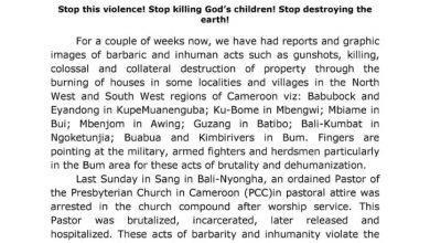 Photo of PCC condemns attack on church, civilians