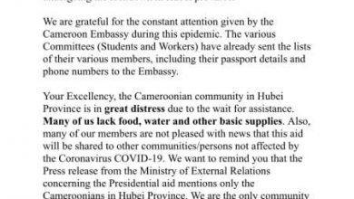 Photo of Was government's promised aid to Cameroonians trapped in China a scam?