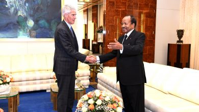 Photo of President Biya holds talks with outspoken US Ambassador to Cameroon