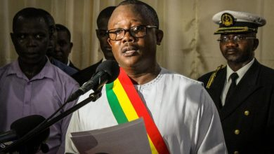 Photo of Guinea-Bissau's president resigns one day into office for fear of his life