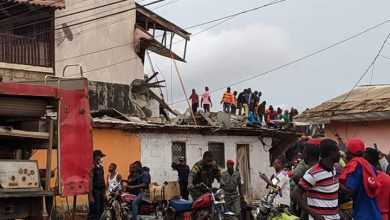 Photo of Four corpses pulled out of Yaounde storey building collapse site