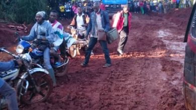 Photo of Hundreds of passengers stranded along Bafoussam/Bamenda road.