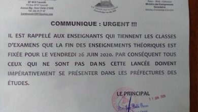 Photo of Yaounde private school teachers accuse principal of ending classes early to avoid paying them