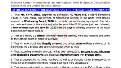 Photo of Mandela Centre International demands compensation for Yaya Sule detained incommunicado for 30 days